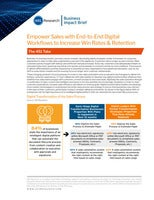 Empower Sales with End-to-End Digital Workflows to Increase Win Rates & Retention