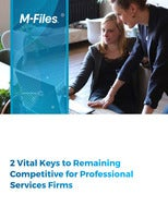 2 Vital Keys to Remaining Competitive for Professional Services Firms