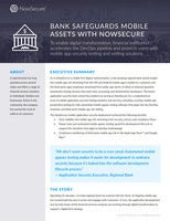 Bank Safeguards Mobile Assets with NowSecure