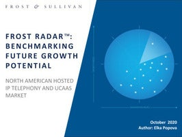 FROST RADAR?: BENCHMARKING FUTURE GROWTH POTENTIAL