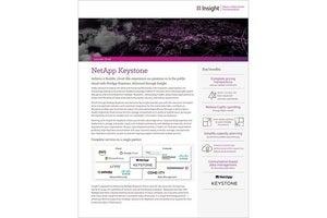 Insight-Delivered NetApp Keystone — solution brief