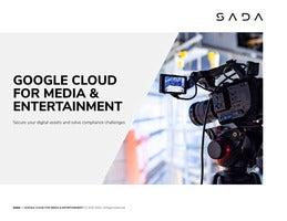 Google Cloud for Media & Entertainment