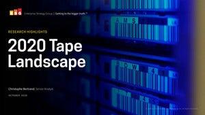 ESG - 2020 Tape Landscape