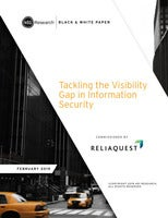 451 Research: Tackling the Visibility Gap in Information Security