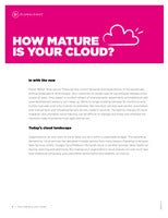 HOW MATURE IS YOUR CLOUD?