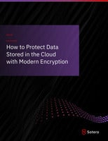 How to Protect Data Stored in the Cloud with Modern Encryption