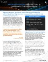 Multiverse Computing: Optimizing Financial Portfolios with Quantum Computing