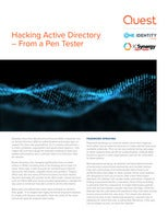 Hacking Active Directory – From a Pen Tester