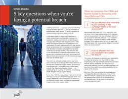 5 key questions when you're facing a potential breach