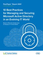 10 Best Practices for Managing and Securing Microsoft Active Directory in an Evolving IT World