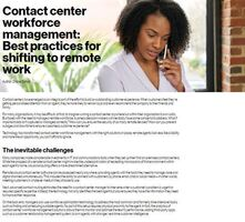 Powering Better CX Through Remote Contact Centers