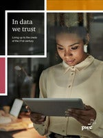 In data we trust: living up to the credo of the 21st century