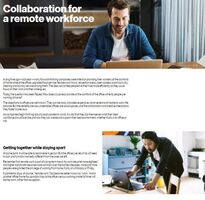 Collaboration for a Remote Workforce