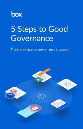 Good governance for Life Sciences 5 steps to get it right first time