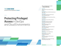 Protecting Privileged Access in DevOps and Cloud Environments