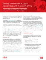 Speeding Financial Services' Digital Transformation with Document Scanning