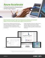 Azure Accelerate: A cloud economics assessment and planning program