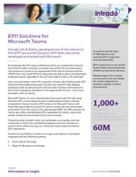 E911 Solutions for Microsoft Teams
