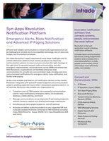 Syn-Apps Revolution Notification Platform