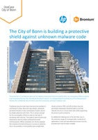 The City of Bonn is building a protective shield against unknown malware code