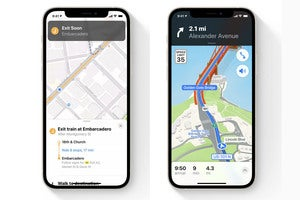 Apple puts a Map to the future on iPhone