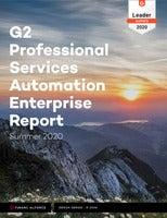 G2 Professional Services Automation Enterprise Report