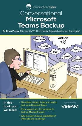 Microsoft Teams Backup - a Conversational Geek E-book