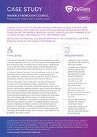 Case Study: WAVERLEY BOROUGH COUNCIL:  Protecting the sensitive data of 126,000 citizens