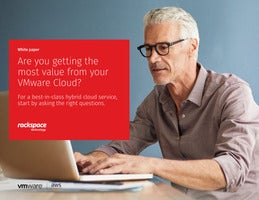 Are you getting the most value from your VMware Cloud?
