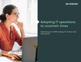 Adapting IT operations to uncertain times