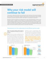 Why your risk model will continue to fail