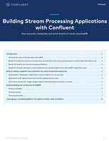 Building Stream Processing Applications with Confluent