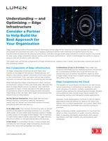 Understanding — and Optimizing — Edge Infrastructure