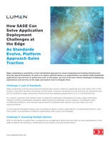 How SASE Can Solve Application Deployment Challenges at the Edge
