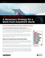 Mobile-First Communications: A Necessary Strategy for a Work-From-Anywhere World