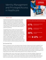 Identity Management and Privileged Access in Healthcare