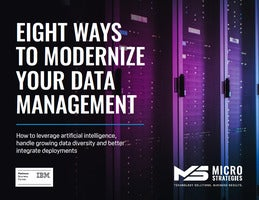 Eight Ways To Modernize Your Data Management