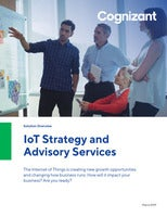 Cognizant IoT Strategy and Advisory Services