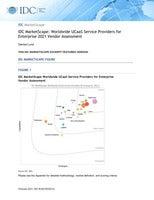 IDC MarketScape: Worldwide UCaaS Service Providers for Enterprise 2021 Vendor Assessment