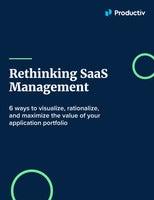 Rethinking SaaS Management