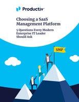 Choosing a SaaS Management Platform: 5 Questions Every Modern Enterprise IT Leader Should Ask