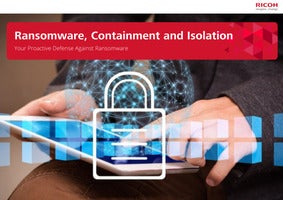 Ransomware, Containment and Isolation