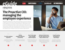 The Proactive CIO: managing the employee experience