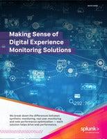 Making Sense of Digital Experience Monitoring Solutions