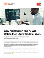 Why Automation and AI Will Define the Future World of Work