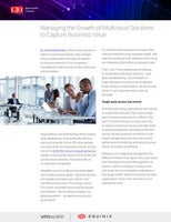 Managing the Growth of Multicloud Solutions to Capture Business Value