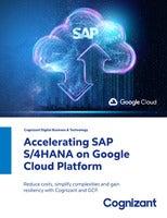 Accelerating SAP S/4HANA on Google Cloud Platform