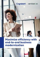 Maximize efficiency with end-to-end business modernization