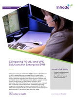 Comparing PS-ALI and VPC  Solutions for Enterprise E911
