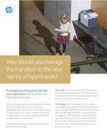 How Should you Manage the Transition to the New Norms of Hybrid Work?